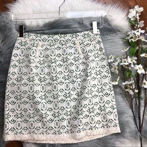 Anthropologie   Edme & Esyllte Aine Lace Skirt